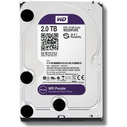 Dysk twardy 2 TB HDD WD PURPLE MONITORING