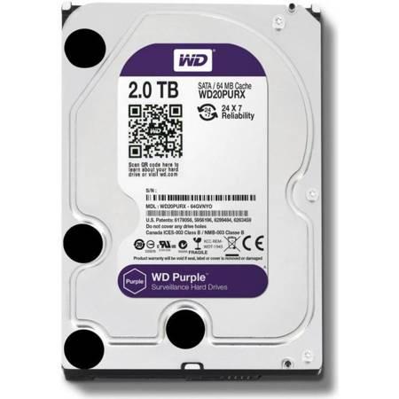 Dysk twardy 2 TB HDD WD PURPLE MONITORING